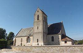 The church in Coulonces
