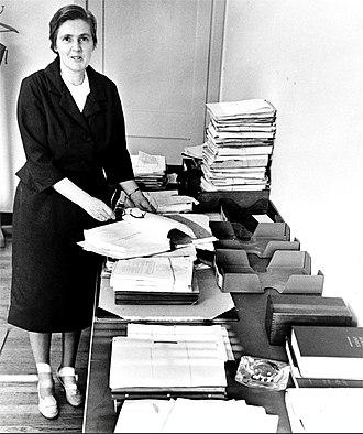 Frances Oldham Kelsey - Kelsey in the 1960s