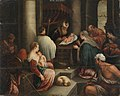 Francesco Bassano d. J. (Nachfolger) - Darbringung Christi im Tempel - 5530 - Bavarian State Painting Collections.jpg