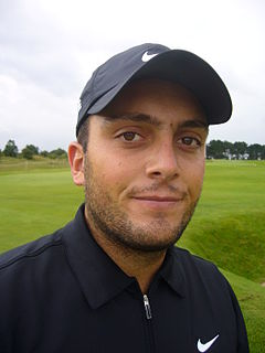 Francesco Molinari Italian professional golfer