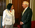 Frank Lautenberg meeting with Sonia Sotomayor.jpg