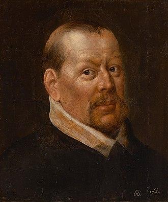 Frans Floris - Self-portrait of Frans Floris (copy)