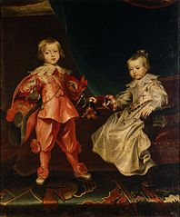 Portrait of Ferdinand IV with his sister Maria Anna