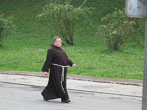 Monk in Cracow