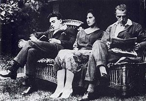 Edith Thompson and Frederick Bywaters - Frederick Bywaters, Edith Thompson and Percy Thompson in July 1921
