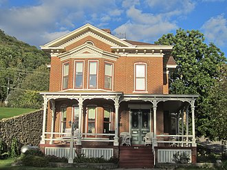 National Register of Historic Places listings in Buffalo County, Wisconsin - Image: Frederick Laue House