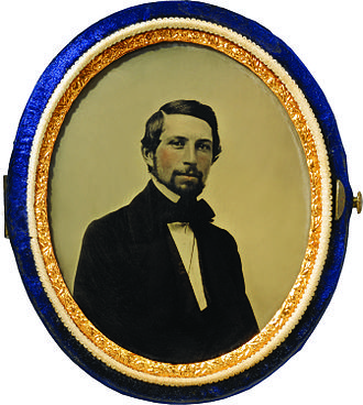 Frederick Layton - Earliest known photograph of Frederick Layton, c. 1850