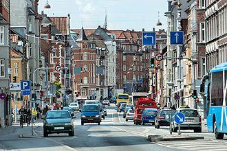 Frederiksbjerg - Image: Frederiks Allé