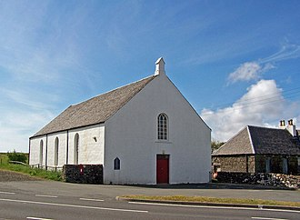 "Free Church of Scotland (since 1900) - Free Church in Lonmore. The Free Church of Scotland has historically been known as ""the church without the steeple."""