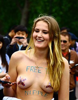 Free the nipple A topfreedom campaign created in 2012