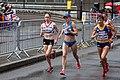 Freya Murray, Olena Burkovska and Lidia Șimon - 2012 Olympic Womens Marathon.jpg