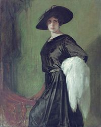 Friedrich August Kaulbach (1850-1920) - Portrait of the actress Hanna Ralph (1885-1978).jpg