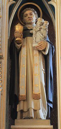 Friesach - Dominikanerkirche - Hochaltar - Hl Hyazinth.jpg