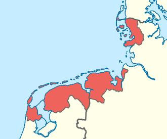 Frisia - Image: Friesland region