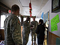 From left, U.S. Army Maj. Drew Smith, the deputy commander of the District of Columbia National Guard's 33rd Civil Support Team, Capt. Kelvin Hart, a nuclear medicine science officer, and Lt. Col. Greg Vigeant 140117-Z-MD418-003.jpg