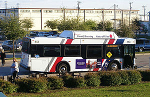 Ft Worth T bus