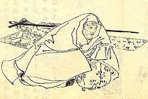 Fujiwara no Shunzei - The distinguished elderly Shunzei.