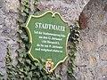 Fulda - Stadtmauer (Schild).JPG
