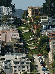 Lombard Street Curves