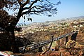 Funchal view from Jardim botanic after fires in 2016 2.jpg