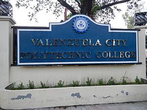 Valenzuela City Polytechnic College - Facade, Logo