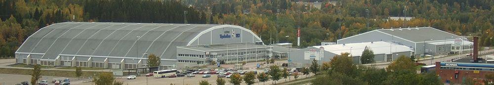 Gärdehov med Nordichallen til venstre