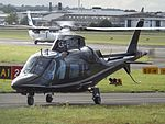 G-EMHC Agusta A109 Helicopter (28644203182).jpg