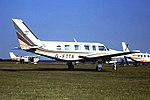 G-FTTA Piper navajo Tyne Tees Airways CVT 07-07-81 (38677616974).jpg
