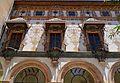 Galeria Daurada del palau ducal de Gandia des del pati de les Canyes.JPG