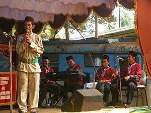 Betawi people - Gambang Kromong.