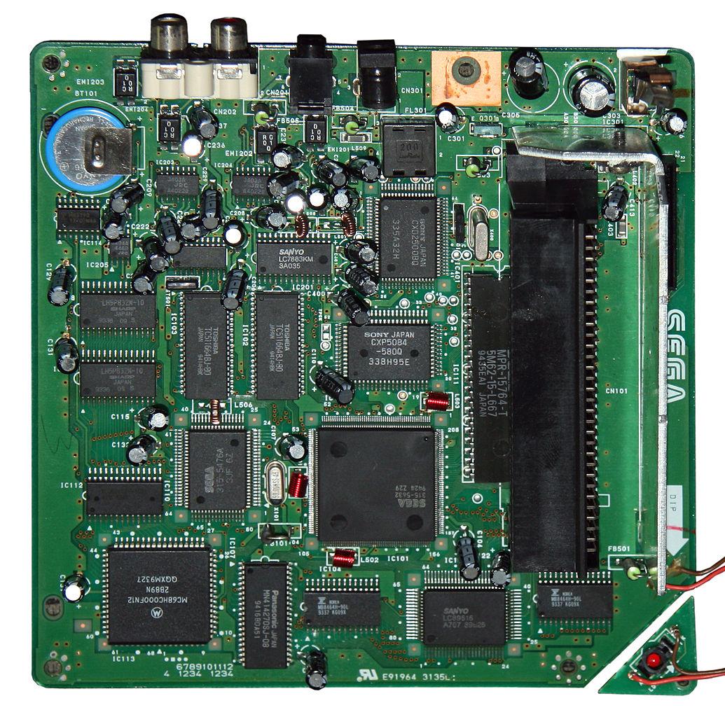 Filegame Console Sega Cd Motherboard 171 6528c A Wikimedia Electronic Game Circuit Diagram