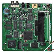 Game console--Sega CD--motherboard--171-6528C-A