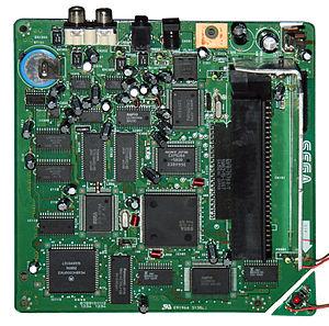 Sega CD - Mega-CD 2 motherboard
