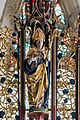 Gampern Kirche Flügelaltar Gesprenge Remigius 01.jpg