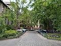 Garden of Semmelweis University. - Tűzoltó Street, Budapest District IX.JPG