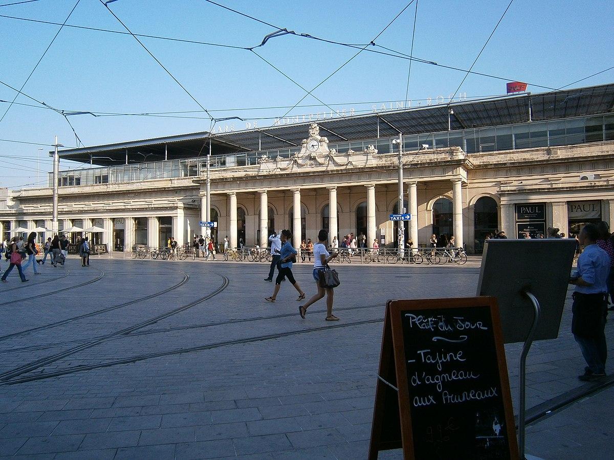 Bahnhof montpellier saint roch wikipedia - Piscine mosson montpellier ...