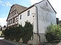 """Gasthaus """"Grüner Baum"""" (Kist), von Nordwesten, bezeichnet 1706.jpg"""