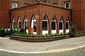 Gasthaus Borgentrick, Borgentrickstraße 13, ehemals betrieben von der Ehefrau Gastwirt Anton Müller, Dachdeckermeister, Hannover Döhren, um Vorgarten-Breite zurückversetzter Ladenbau.jpg