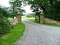 Gated Entrance to Busby Hall - geograph.org.uk - 40385.jpg