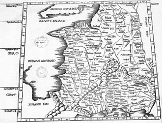 Geography (Ptolemy) - Image: Gauleptolemee 1541