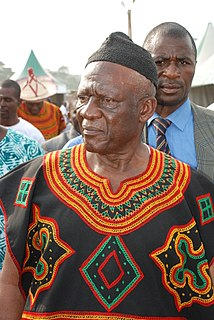 John Fru Ndi Cameroonian politician