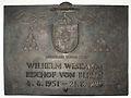 Gedenktafel Hinter der Katholischen Kirche 3 (Mitte) Wilhelm Weskamm.jpg