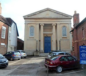 Grade II* listed buildings in Sedgemoor - Image: Geograph 3309651 listed Bridgwater Baptist Church