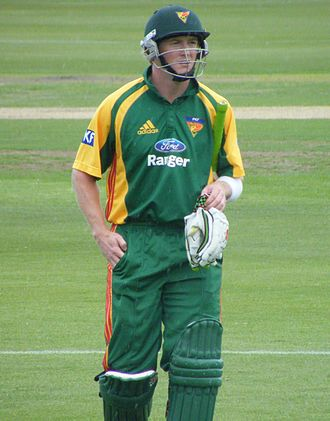 George Bailey (cricketer, born 1982) - Bailey playing with Tasmania in 2008.