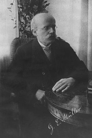 Georg Elias Müller - Georg Elias Müller