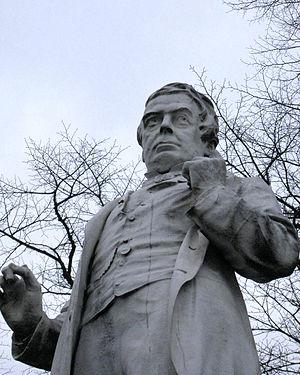 George Leeman - Image: George Leeman statue in York