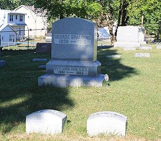 George Spalding - Spalding grave