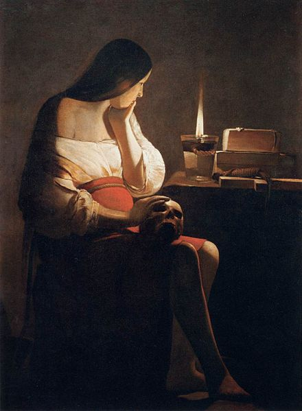 File:Georges de La Tour - Magdalen of Night Light - WGA12337.jpg
