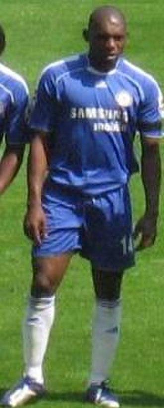 Geremi - Geremi line up for Chelsea.