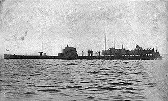 SM U-53 - Image: German submarine SM U 53